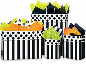 DOMINO-ALLEY-Design-Party-Gift-Paper-Bag-Only-Choose-Size-amp-Package-Amount