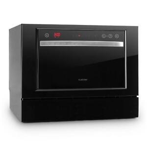 REMIS-A-NEUF-Lave-vaisselle-Petite-lave-vaisselle-6-Couverts-1380W-A-Noir