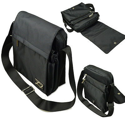 "10.1""Black Tablet Messenger Bag For iPad/Samsung Galaxy Tab A/Lenovo Tab 2 A10"