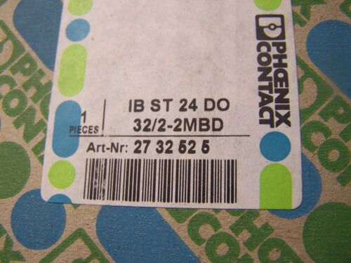 NEW PHOENIX CONTACT INTERBUS OUTPUT IB ST 24 DO 32//2-2MBD IBST24DO