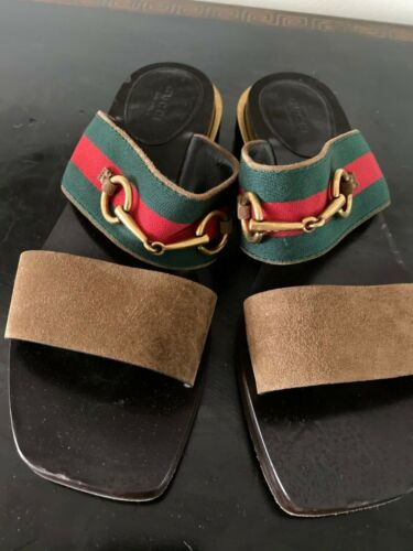 gucci slides women 38 sandels