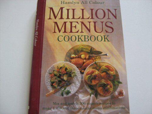 1 of 1 - Hamlyn All Colour Million Menus Cookbook 0600576019