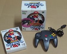 Mario Kart 64 Box Set + Controller Nintendo 64 N64 JPN Japan * VGC *
