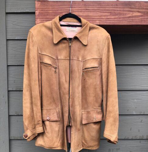 1930s Californian Suede Jacket Vintage California