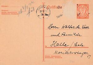 Postkarte-Jahr-1933-verschickt-von-Danzig-nach-Halle-Saale