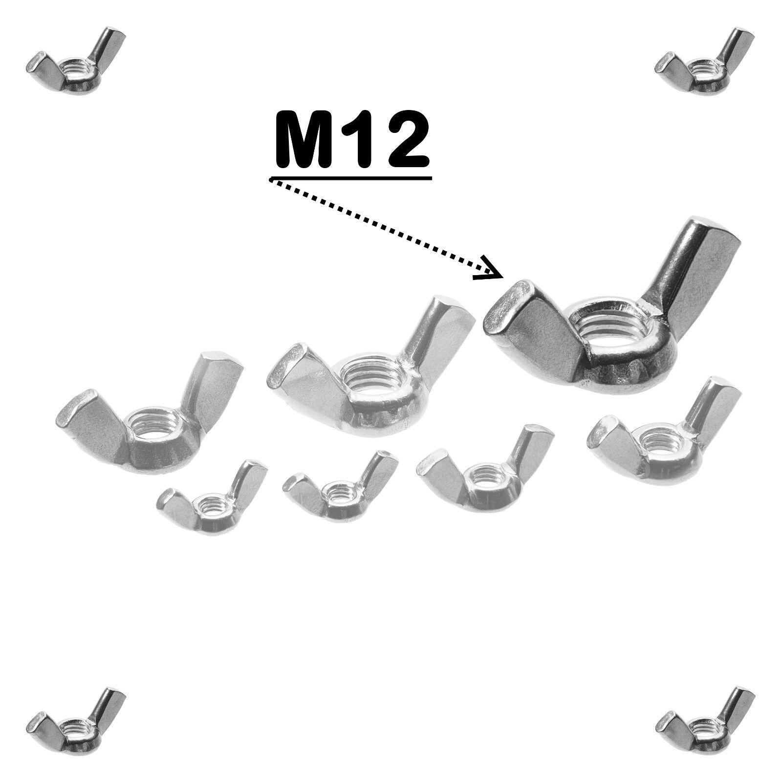 Flügelmuttern Edelstahl DIN 315 VA A2 V2A V2A V2A M3 M4 M5 M6 M8 M10 M12 M14 M16 M18 M20     | Erste Klasse in seiner Klasse  511869