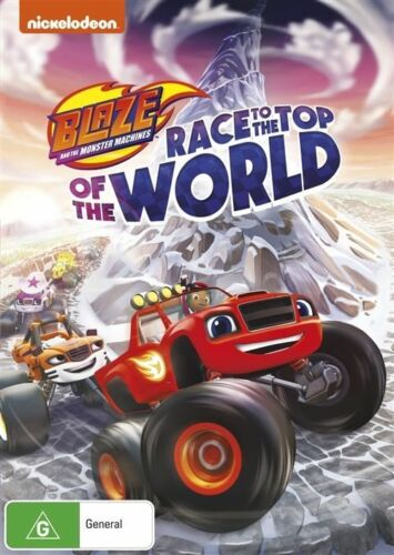 1 of 1 - NEW Blaze And The Monster Machines - Race To The Top Of The World  DVD REGION 4