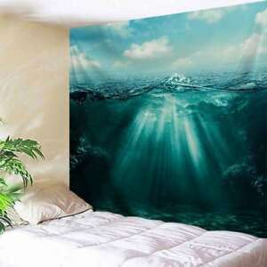 Details About Art Deep Sea Print Tapestry Wall Hanging Bedroom Tapestry Wall Art Home Decor
