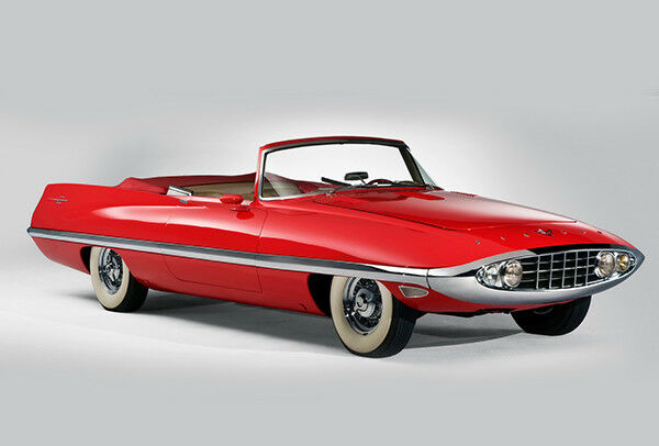 1957 Chrysler Diablo Concept Car - Promotional Photo Poster