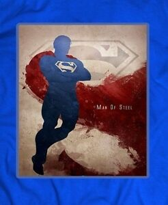 DC-Comics-SUPERMAN-T-shirt-CUSTOM-DESIGN-RARE-ART-FULL-FRONT-OF-SHIRT