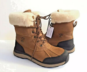 6bf418a4ab1 Details about UGG ADIRONDACK III CHESTNUT WATERPROOF Boot US 9.5 / EU 40.5  / UK 7.5 - NEW
