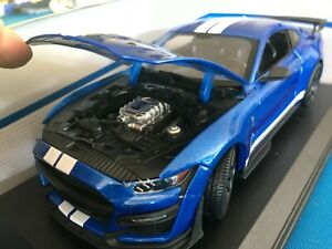 Maisto Special Edition 2020 Ford Mustang Shelby GT500 1:18 ...