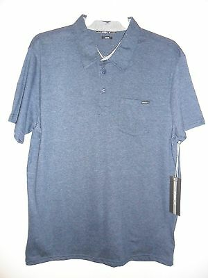 "Oneill Men's S/S Polo Shirt ""The Bay"" - DNY - Size Medium - NWT - Reg $65"