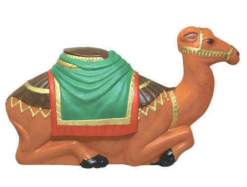 ***NEW*** Blow Mold Camel Lighted Christmas Nativity by General Foam Blowmold