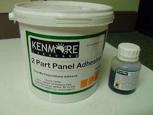 2-Part-Caravan-Wallboard-Panel-Adhesive-bonding-glue-Polyurethane-Mix-Ply-2PPA