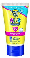 2 Pack Banana Boat Kids Sunscreen Lotion Spf 50 Tear Free Sting Free 2oz Each on sale