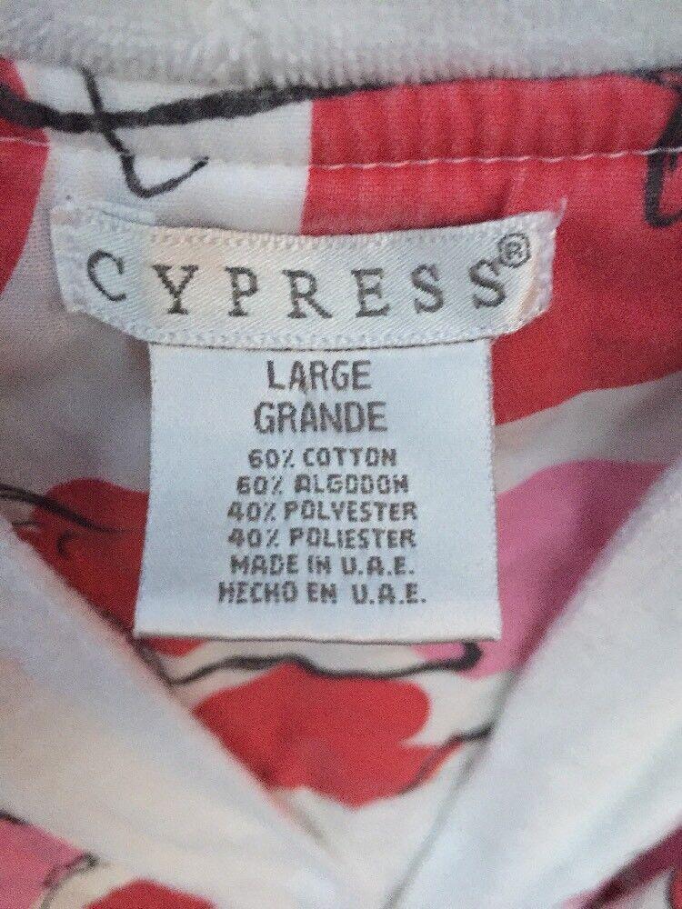 Nearly New CYPRESS Robe Spa Yoga Beach Pajamas PI… - image 8