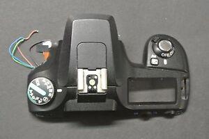 Pentax-K100-Digital-SLR-Camera-TOP-Cover-Replacement-Repair-Part-BLACK-EH1501