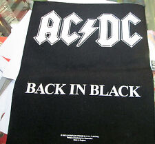 AC/DC COLLECTABLE RARE VINTAGE BACKPATCH BACK PATCH 2002 ANGUS ORIGINAL