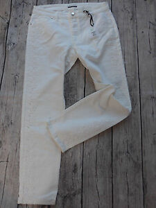 Jeans-Trousers-Guido-Maria-Kretschmer-Size-40-to-52-White-Stretch-259-464