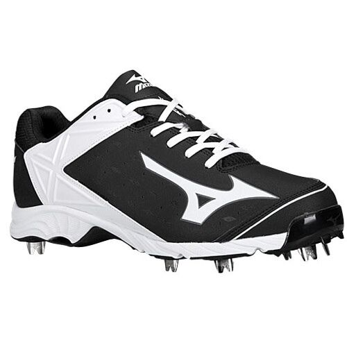 Mizuno 9-Spike Adv Swagger 2 Low Low Low Metal Baseball Cleat 320480 Blk FREE SHIPPING   e4c513