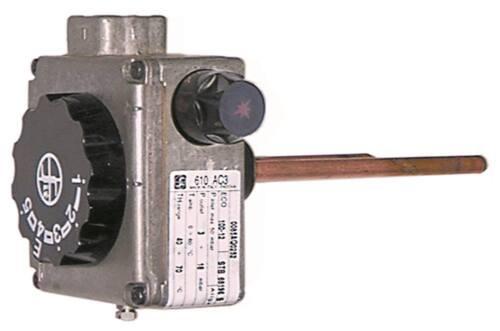 """Sit serie 610 ac3 gasthermostat max temperatura 70 ° C 30-70 ° C gaseingang 1//2/"""""""