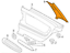 thumbnail 9 - BMW 3 E46 Rear Right C-Pillar Cover Trim 51438222628 8222628 NEW GENUINE