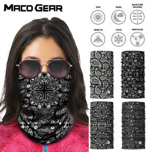 Paisley-Print-Seamless-Motorcycle-Balaclava-Shield-Face-Mask-Neck-Gaiter-Scarf