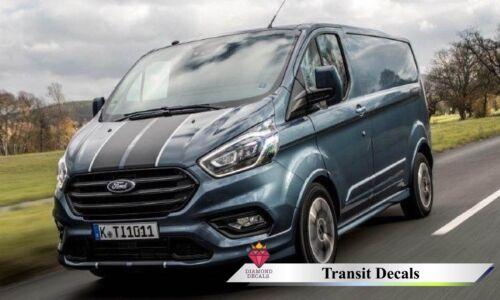 Transit Van Custom FULL DECAL Kit-côtés-Bonnet-Arrière Autocollants TOUTE COULEUR