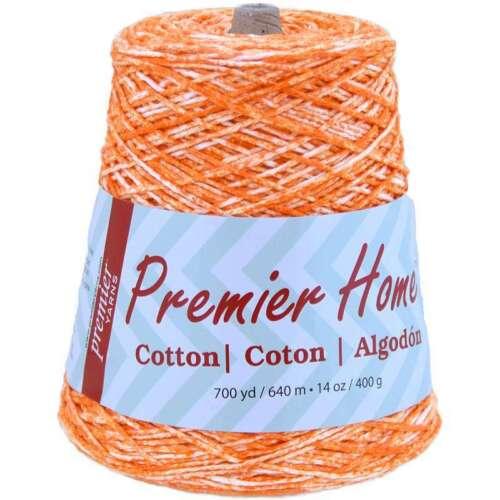 Home Cotton Yarn Multi Cone Tangerine Splash 847652052427