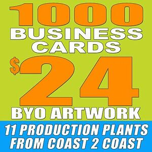 1000 custom double sided business cards free shipping byo image is loading 1000 custom double sided business cards free shipping reheart Gallery