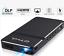 縮圖 1 - Pico Mini Projecteur Portable 1080P HD DLP LED 50 Ansi Lumens Wi-Fi HDMI USB