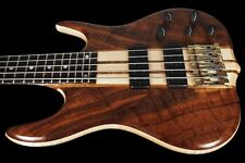 2017 KEN SMITH 5TNV BT 5-STRING BASS BLACK TIGER FIGURED WALNUT NECK THRU