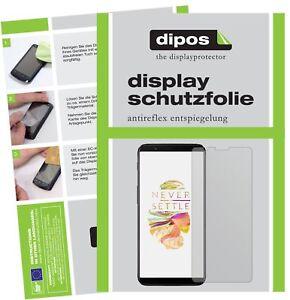 2x-OnePlus-5T-Film-de-protection-d-039-ecran-protecteur-antireflet-dipos