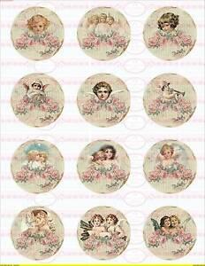 Bügelbild Engel Weihnachten Christmas  Merry Vintage  A4 NO 1688 Basteln & Kreativität