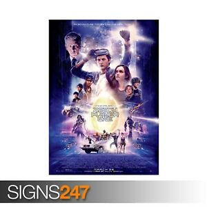 READY-PLAYER-ONE-ZZ007-MOVIE-POSTER-Photo-Picture-Poster-Print-Art-A0-to-A4