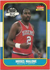 1986 Fleer Moses Malone #69 Basketball Card