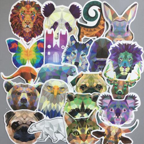 35Pcs Mixed Animal Stickers Graffiti Decals Luggage Albums Decor DIY Sticker
