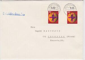 BUND-Mi-545-MeF-Eckrand-Stuttgart-15-12-69-portogerechte-Briefdrucksache