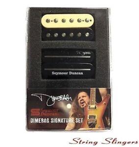 Seymour-Duncan-SH-1-amp-SH-13-039-Dimebag-Signature-039-Humbucker-Pickup-Set-Zebra