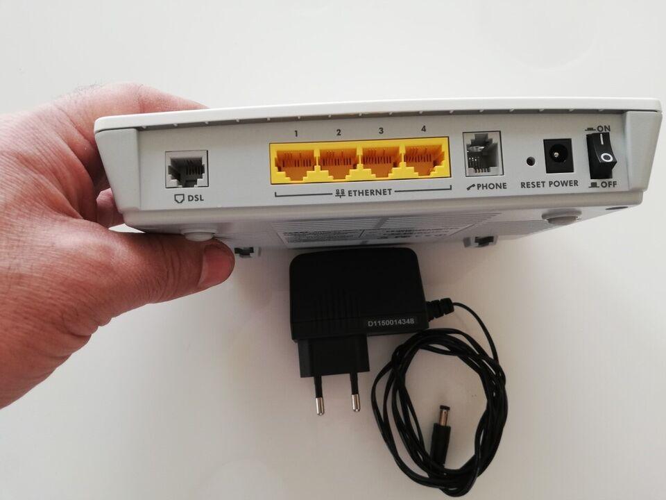 Router, telenor, God – dba dk – Køb og Salg af Nyt og Brugt