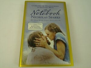 The-Notebook-10th-Anniversary-Edition-w-Bonus-DVD-Hardcover-Book-Nicholas-Sparks