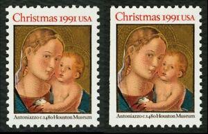 #2578 Madonna & Niño, Hoja Y Folleto Individuales, Nuevo Cualquier 5=