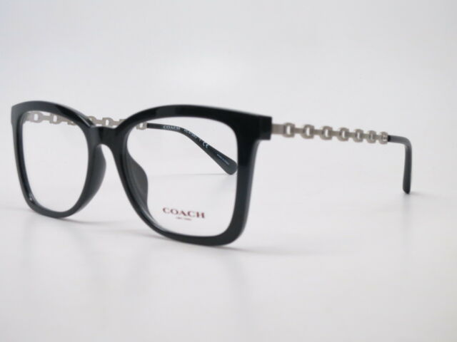 3bad7d370cb7 Authentic Coach HC 6128u 5002 Black Eyeglasses 52mm Rx-able for sale ...
