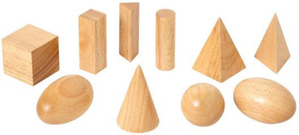 Geometric Body, Nature - Montessori