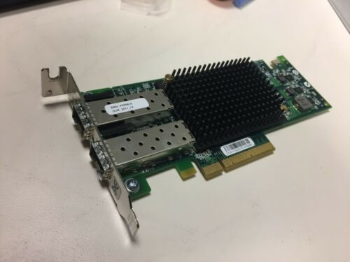 Dual Port 10GB SFP PCIe 3.0 X8 Ethernet Adapter Pulled From Synology RS2418RP+