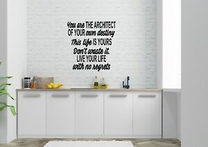 You-Are-The-Architect-Inspired-Design-Home-Decor-Wall-Art-Decal-Vinyl-Sticker