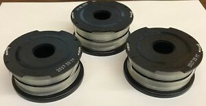Details about 90567225N (3) Black and Decker GH700 GH710 GH750 Trimmer  Spool w/ line 90517175