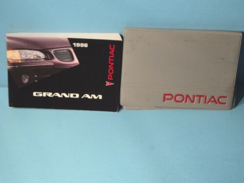 96 1996 Pontiac Grand Am owners manual