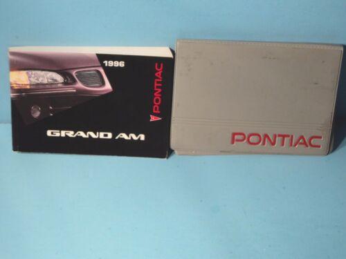 96 1996 Pontiac Grand Am owners manual